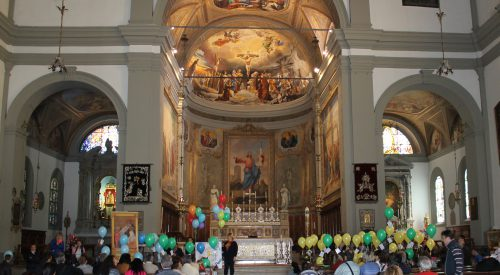 palloncini in chiesa